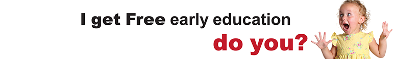 Free Early Education for 2 year olds Logo
